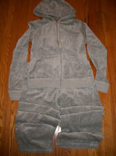 Juicy Couture - velour track suit  (silver) - Size L - NWT