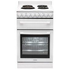 Euromaid 54cm Freestanding Electric Oven/stove White Model F54RW