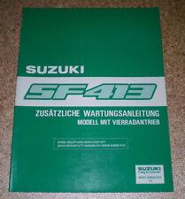 suzuki swift sf310 sf413 1989 2000 repair service manual