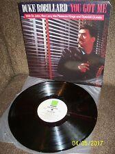 DUKE ROBILLARD  You to Me 1988 Rounder LP 3100 NR/MINT