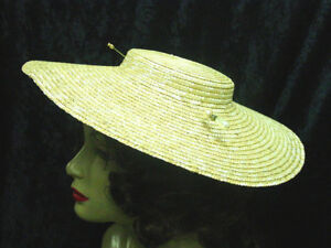low crown straw hat 18th-19th century colonial revolutionary war 15 inches