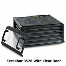 Excalibur 3526TCDB Excalibur 5 Tray Dehydrator Timer Black With Clear Door