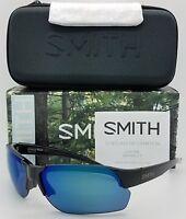 NEW Smith Envoy Max sunglasses Black Blue Mirror ChromaPop Polarized $189 m flak