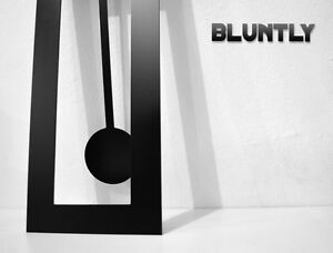 Bluntly Modern Design -Big Pendulum Wall Clock
