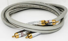 A Pair of UltraLink Ultima Dual Balanced Audio Interconnect Professional Cable