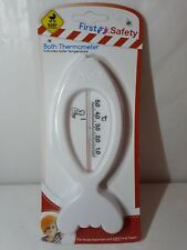 Baby Bath Thermometer White Fish Floating  Babies  First Steps