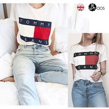 Man Women Short Sleeve Lovers' Clothes Casual Blouse Shirt Tops T-shirt Tee UK