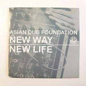 ASIAN DUB FOUNDATION : NEW WAY  NEW LIFE ♦ FRENCH CD PROMO