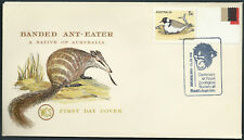 Chimpanzee Monkey Franked Cover Australia Zoological Society Wcs Banded Anteater