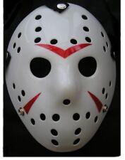 Jason Hockey Maske Horror Voorhees Maske Freitag der 13. Halloween Weiß