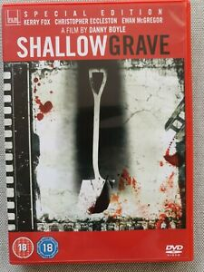 Shallow Grave (DVD REGION 2, 1994, special edition + BBC documentary)