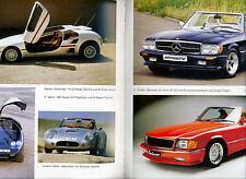 Mercedes Tuning - Brabus AMG SGS Lorinser Zender Carlsson etc. - BUCH v. 1987 !