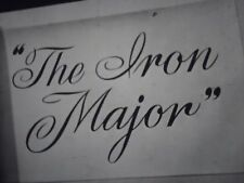 16 mm    The Iron Major  1943  Pat O'Brien Robert Ryan Ruth Warrick Leon Ames
