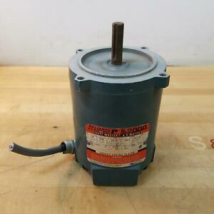 Reliance Electric P56H3003R-WX AC Motor, 1/4HP, 1725RPM, EA56C Frame, 208/480V