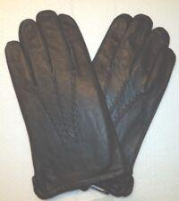 """Men's Grandoe Lambswool Lined """"Genisis"""" Genuine Leather Gloves, XL, Black"""