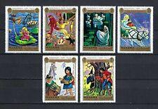 Manama 1972 Mi#893-8  Fairy Tales by Hans Christian Andersen  MNH Set