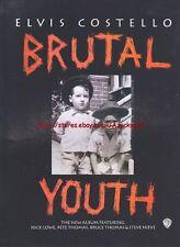 Elvis Costello Brutal Youth Album 1994 Magazine Advert #1196