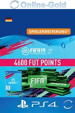 FIFA 19 PlayStation 4 - 4600 FUT Points Key FIFA Ultimate Team PS4 - DE Account