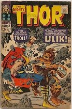 Thor #137-139 (Marvel 1967) avg. VG-: War with the Trolls/Ulik/Orikal/Lady Sif