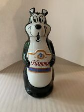 Vintage Hamm'S Beer Ceramic Bear Decanter Figure 1972 Bottle Great Condition