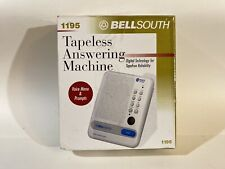 New Bell South Digital Answering Machine 1195 new open box