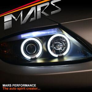Black CCFL Angel-Eyes Projector Head lights for BMW Z4 E85 E86 (HID MODEL ONLY)