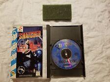 Snatcher (Sega CD, 1994) Complete case manual.