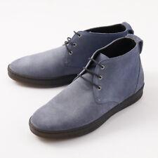 NIB $1500 KITON 'Monaco' Slate Blue Suede Chukka Sneakers US 9.5 (It 8.5) Shoes