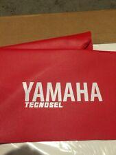 1986-88 Yamaha YZ125 1986 1987 YZ250 1986-89 YZ490 Tecnosel Seat Cover Red