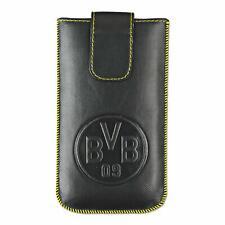 Borussia Dortmund FC Leather Phone Case - iPhone 5,5C,5S - Black - New