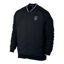NIKE Court Tennis Men`s Court Baseline Tennis Jacket Black Large 830909-010