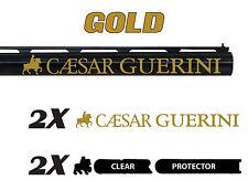CAESAR GUERINI Vinyl Decal Sticker For Shotgun BARREL / Case / Gun Safe / Car a