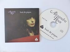 CD single ALEXANDRA ROOS Huit de pique naive nv811593 promo
