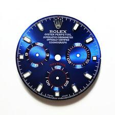 Blue Racing Dial for Steel Daytona 116520, 116500,... (4130)