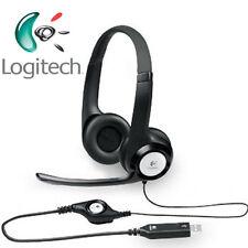 LOGITECH H390 Stereo Headset / Kopfhörer für PC - USB Lautstärkeregler - Mikro