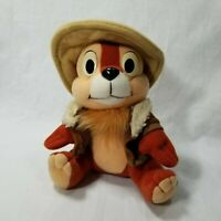 Chip And Dale Rescue Rangers Vintage Plush Disney Afternoon Playskool 1989