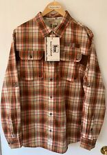 Banded Brand Waterfowl Plaid Vented Casual Shirt Mens Size L New With Tags