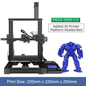 ANYCUBIC Mega Zero 2.0 3D Printer Large Build Volume 220x220x250mm Resume Print