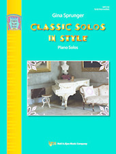 """""""CLASSIC SOLOS IN STYLE"""" PIANO SOLOS MUSIC BOOK-BRAND NEW ON SALE SONGBOOK!!"""
