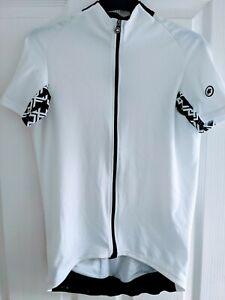Assos Mille GT Short Sleeve Jersey White Medium