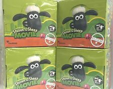 Shaun the Sheep The Movie Characters' Figures in Blind Bags x 4 BOXES (38 x 4)