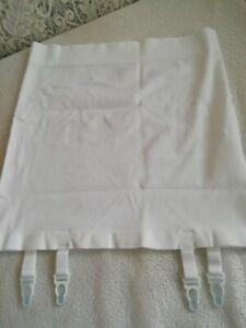 Ladies suspender girdle, white,