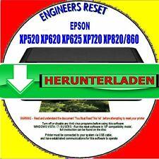 Epson XP520 XP625 XP820 XP860 Abfall Stempelkissen Zähler Reset - HERUNTERLADEN