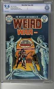 Weird War Tales (1971) # 20 - CBCS 9.6 Off-White Pages - Death Watch