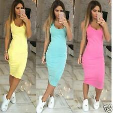 Sexy Womens Summer Bandage Bodycon Dress Evening Party Cocktail Short Mini Dress