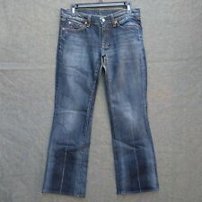 7 For All Mankind  BootCut Women's Jeans Size 29 L31 Distressed Wash