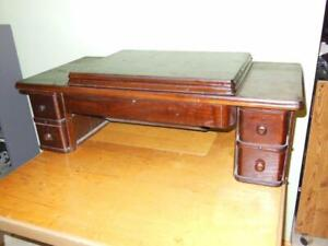 5 Drawer Wood Cabinet from Singer 66 Red Eye Treadle Sewing Machine