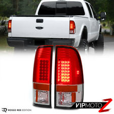[INSTANT UPGRADE] 2008-2016 Ford F250 F350 SD Super Duty RED Rear LED Taillights