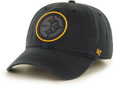 Pittsburgh Steelers 47 Brand Game Time Closer Cap Hat Fit Flex Sawyer M/L