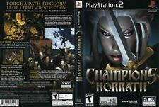 Champions of Norrath: Realms of EverQuest Sony PlayStation 2 PS2 COMPLETE BLACK